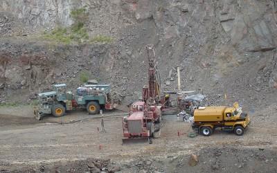 Mine de San Francisco, Sonora, Mexique