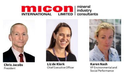 Micon Announces Changes in Leadership