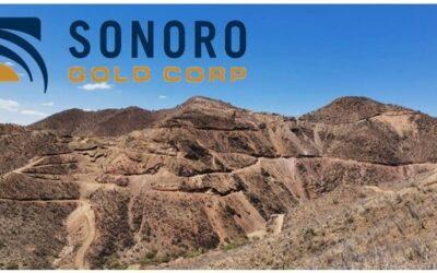 Sonoro Announces Positive PEA Results and Updated Mineral Resource Estimate for the Cerro Caliche Gold Project